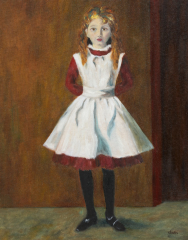 Young Girl 16x20 $1300.00