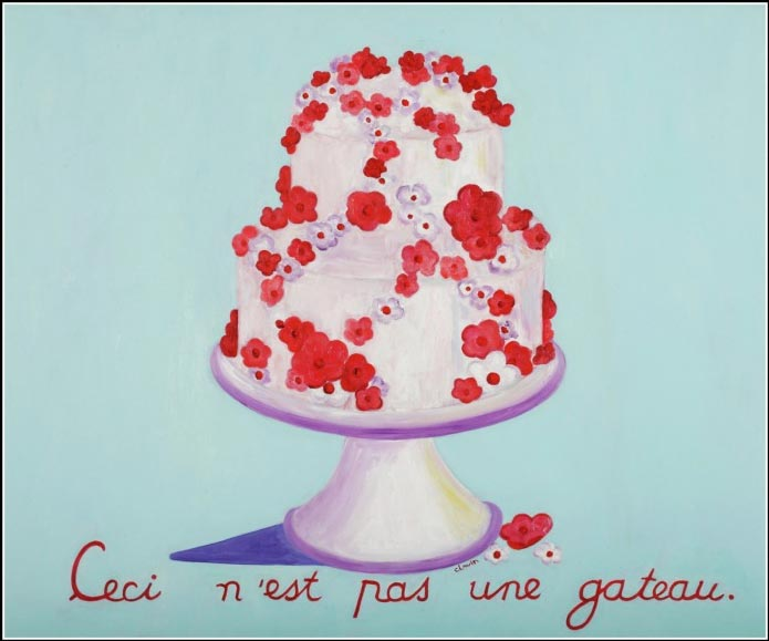 This is not a cake 20 x 28 $950.00